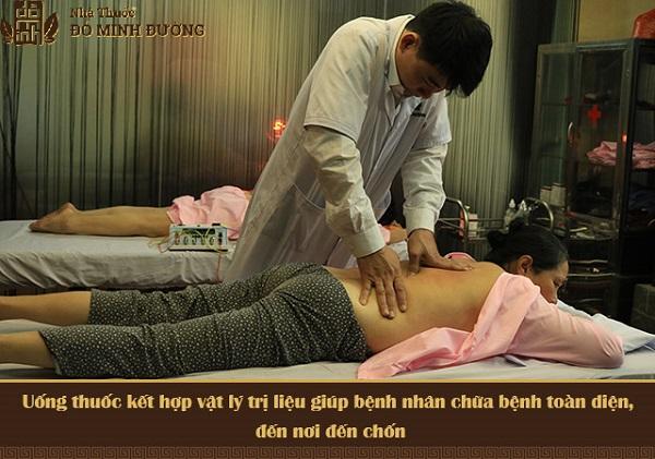 BS Phạm Văn Châu - Trưởng khoa Vật lý trị liệu Đỗ Minh Đường