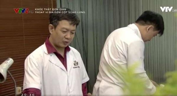 Lương y, BS.Đỗ Minh Tuấn - Giám đốc huyên môn nhà thuốc Đỗ Minh Đường trong chương trình khỏe thật đơn giản