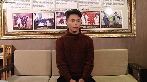 Bệnh nhân Hồ Văn Mạnh