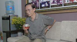 Nghệ sĩ Văn Báu mắc thoát vị đĩa đệm